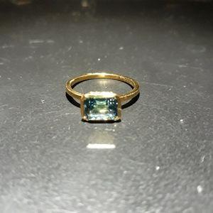 Jewelry - Natural Swiss Blue Topaz L10